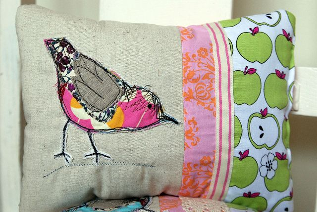 Little Dipper Cushion by Once upon a time in the north, via Flickr