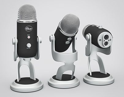"""Check out new work on my @Behance portfolio: """"Microphone Blue Yeti Pro 3d model"""" http://be.net/gallery/40451207/Microphone-Blue-Yeti-Pro-3d-model"""