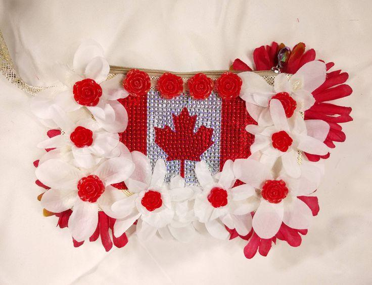 Canada Pride Flower Handbag • EDM • Costume • Outfit • Rave • Purse • Kids • Festival • Bag • https://www.etsy.com/listing/583113556/canada-pride-flower-handbag-edm-costume?utm_campaign=crowdfire&utm_content=crowdfire&utm_medium=social&utm_source=pinterest