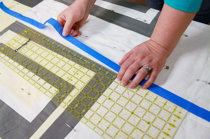 Don't be intimidated by straight-line quilting. Instead, pick up some advice from these seasoned quilters on how to straight-line quilt with ease.