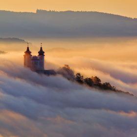 V objatí hmly  Banská Štiavnica