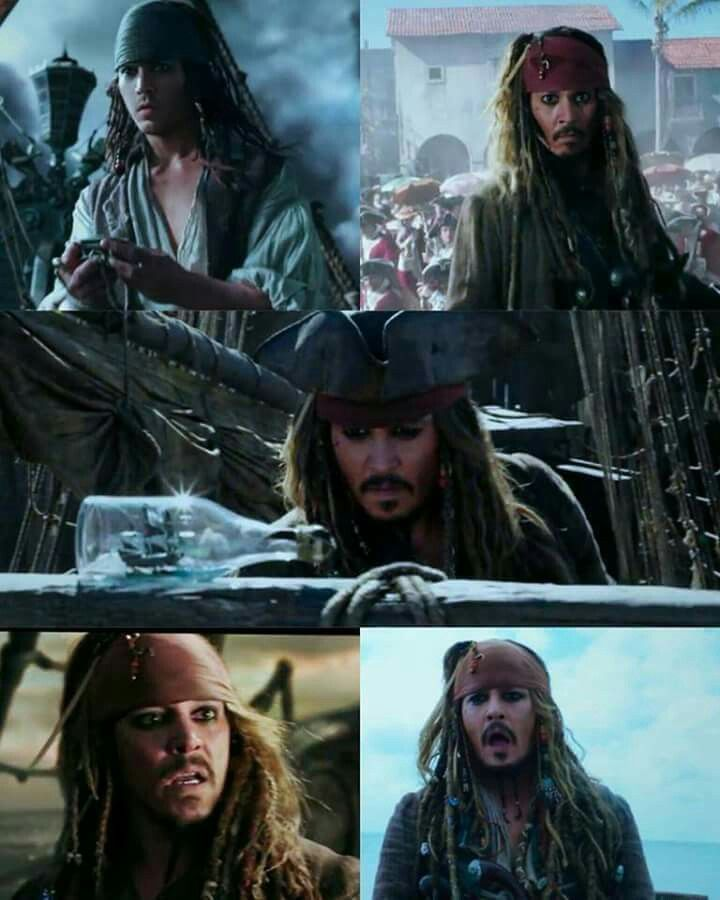 First time we see Captain Jack Sparrow as a young boy! OMG!!!