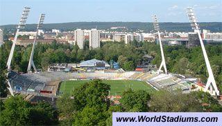 Rudolf Harbig Stadion in Dresden
