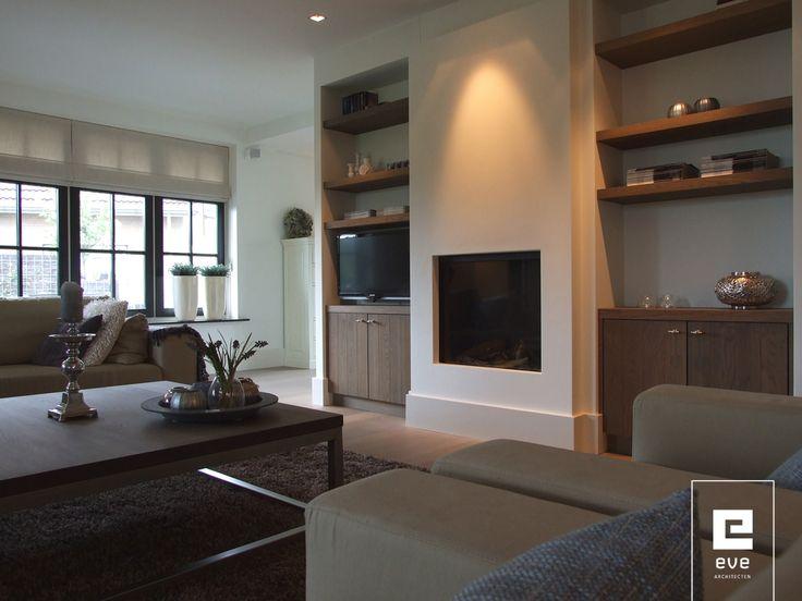 Fireplace + TV