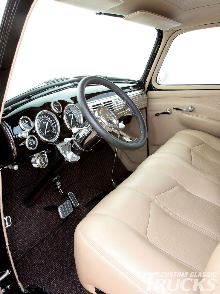 86 best chevy interiors images on pinterest truck - Chevy truck interior accessories ...