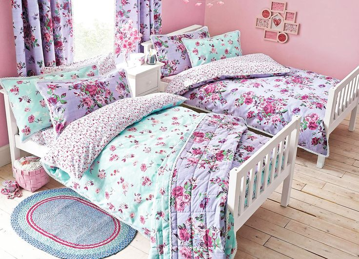 Vintage floral bed set from next kids bedroom ideaschildrens bedroomkid bedsbig