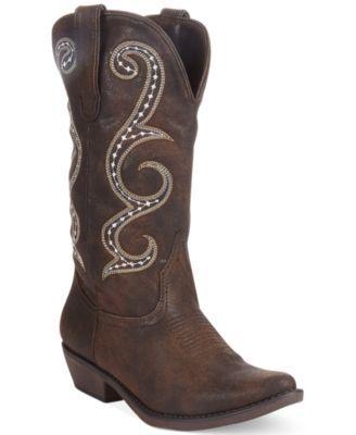 American Rag Dawnn Western Boots, Only at Macy's | macys.com