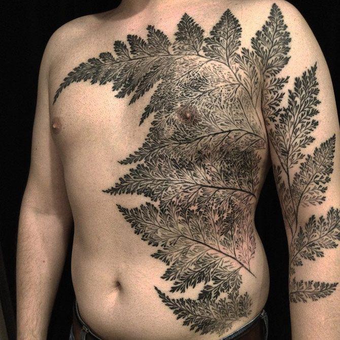 Large Fern Tattoo | Best tattoo ideas & designs | Tattoo ...