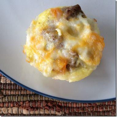 Egg Cups with Jennie-O Turkey Breakfast Sausage