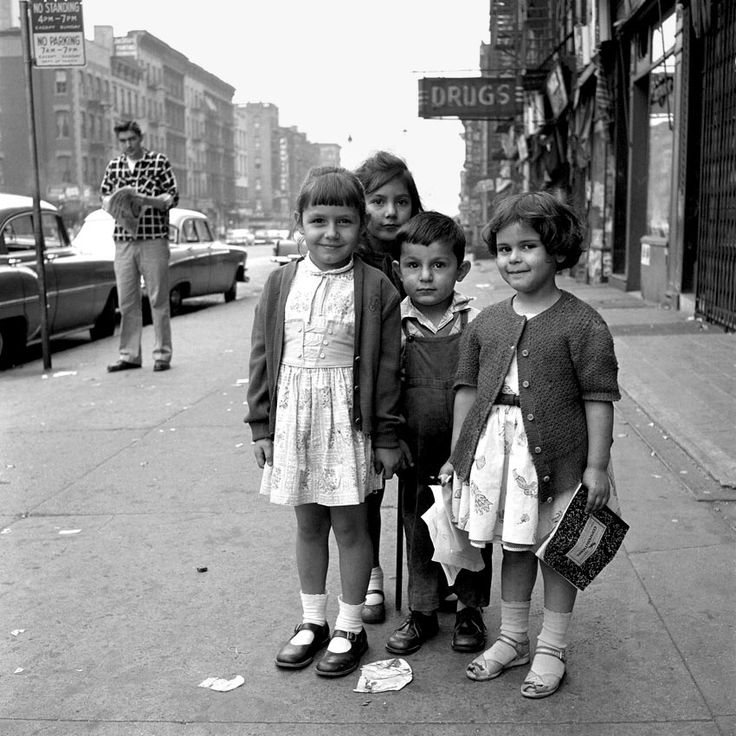 STREETS OF NEW YORK, 1950...