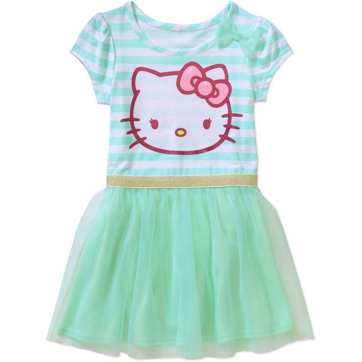 Hello Kitty Toddler Girl T-Shirt Tutu Dress