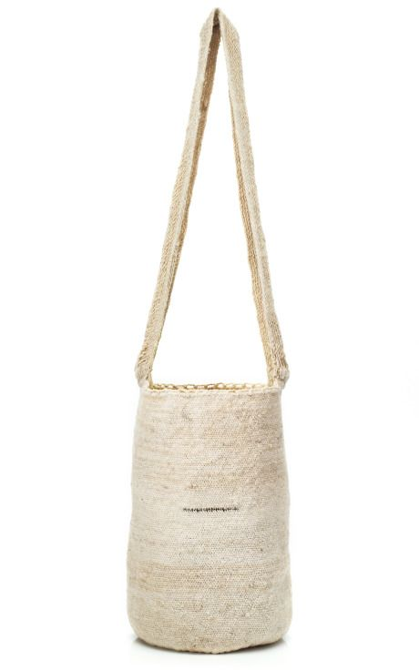 Handwoven mochila made by artisans from the Arhuacos tribe Colombia