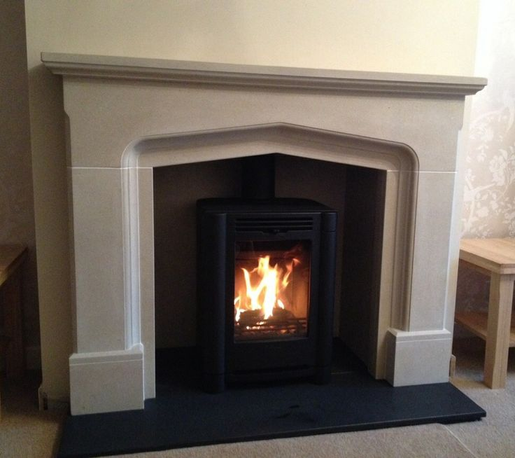 This recent Hagley Stoves installation shows a Contura i4FS Classic with. Worcestershire Marble Blenheim stone fireplace. Thanks to the customer for this photo of a fabulous finished job.