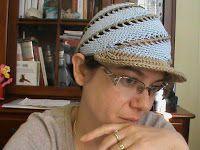 oneliniuncinetto: cappello a spirale con il punto basso