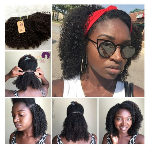 Afro Kinky Curly - Clip-Ins