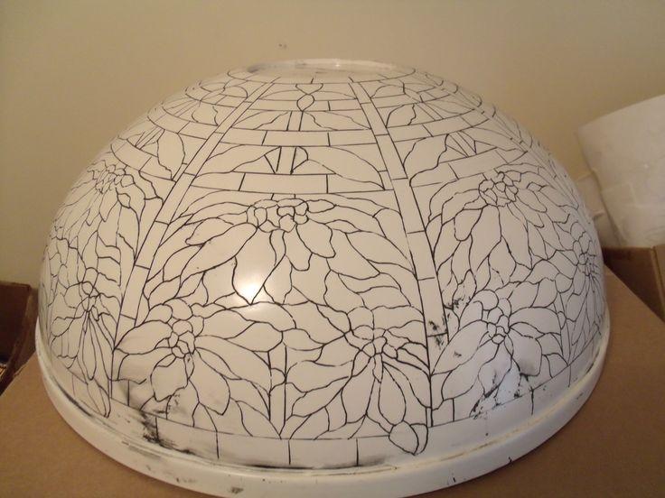 Tiffany 22 Quot Poinsettia Lamp Fiberglass Mold By Grotepass