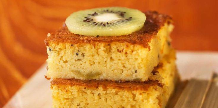 Gâteau à l'orange et au kiwi