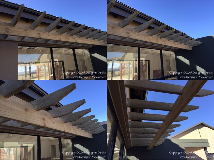 CCA treated pine pergolas installed in Copperleaf Golf Estate