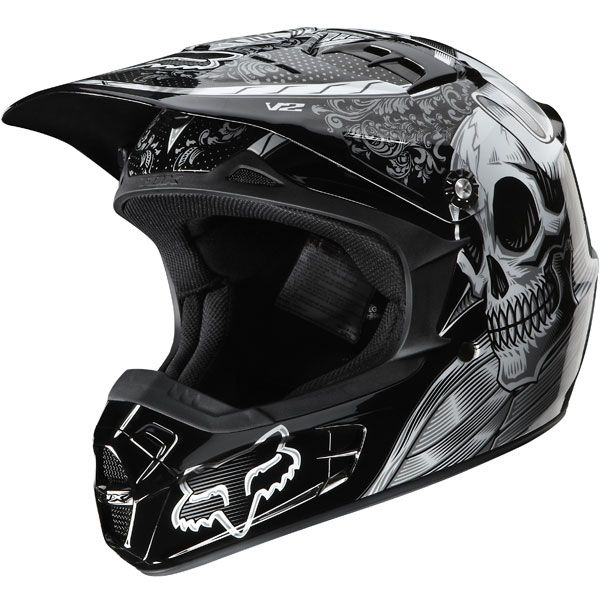 Find the Fox Black Vandal Helmet - 01260 at Dennis Kirk. Shop our complete  selection of ATV Dirt Bike parts and accessories including the Fox Black  Vandal ...