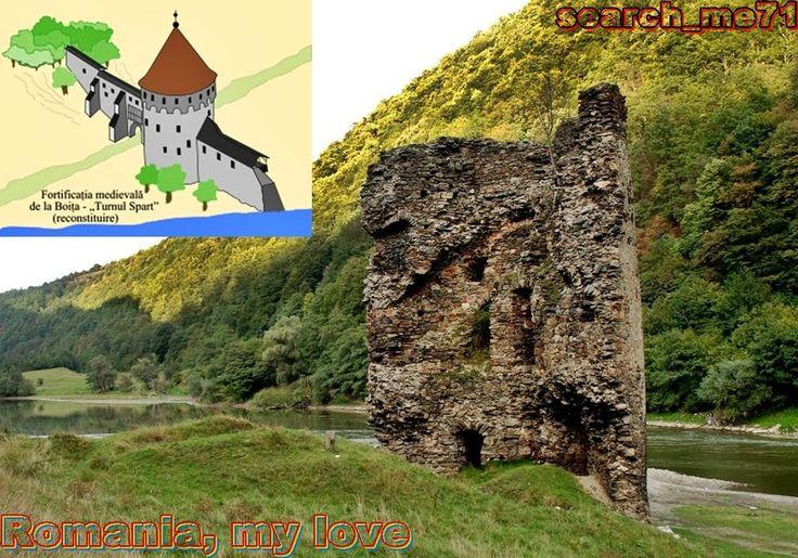 Turnul Sfărâmat, Valea Oltului, judeţul Sibiu, România 1 - The Broken Tower, Olt Valley, Sibiu county, Romania 1