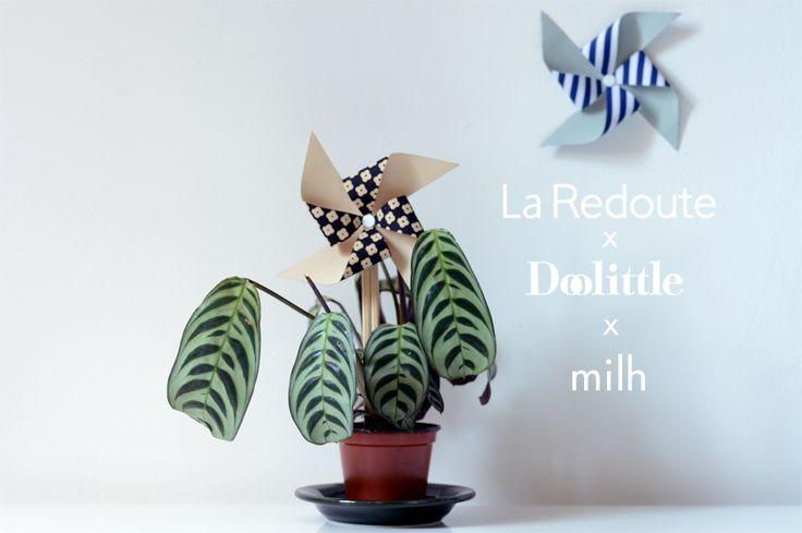 Ton moulin va trop vite x Doolittle x La Redoute | Milh – La mercerie en ligne