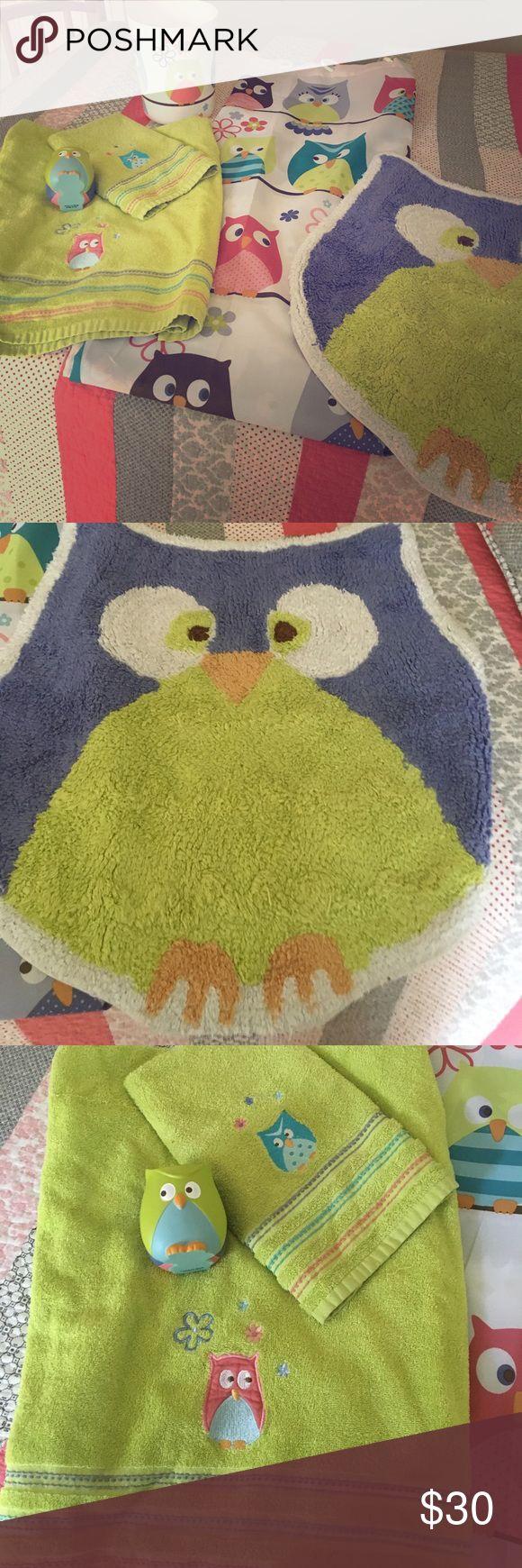 Girly Owl Bathroom Bundle! 💕