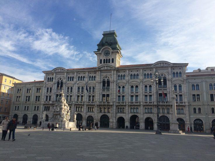 Piazza Italia Trieste