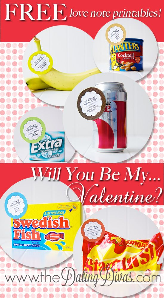14 love notes with treats to count down to Valentine's Day- totally want to jump in and do this for my hubby