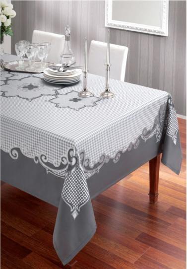 Beyaz Masa Örtüsü Modelleri
