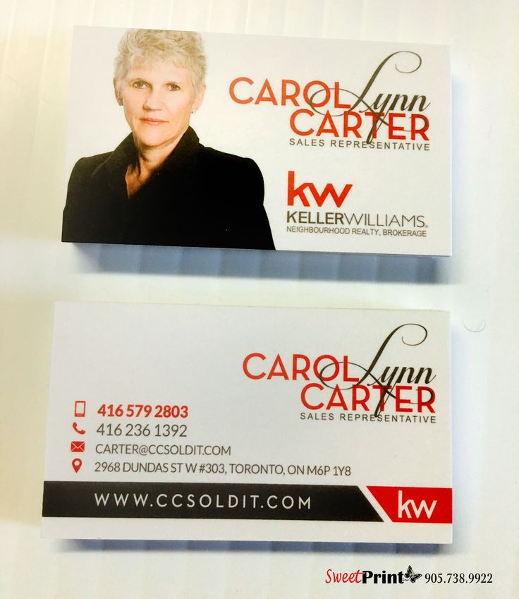 86 best business cards images on pinterest business cards carte keller williams realty business card design with name logo design for toronto real estate agent reheart Image collections
