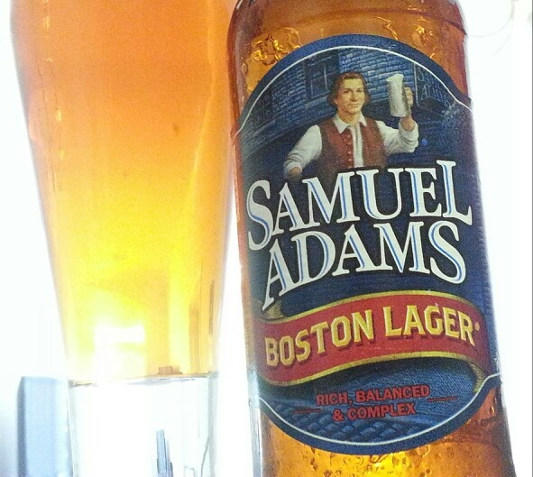 Samuel Adams - Boston Lager. Not a bad option for a lager.
