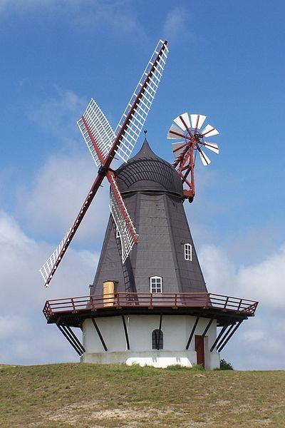 Windmill in Sønderho, Fanø, Denmark