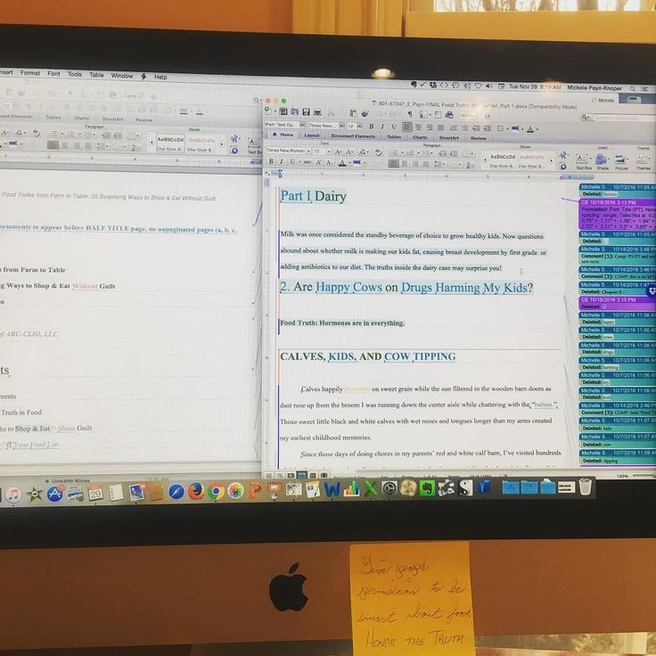 Here's what it editing more than 220 pages of a #book looks like. Gulp; I have a 12/7 deadline. The publisher sent back final #edits on Food Truths and it appears they left my #writing about #farm & #food intact. Happy dance! The biggest point of contention I have with the #editor is around the use of the word overwhelm in the #grocery store and how to spell #dietitian. That's a good sign. #fingerscrossed #author #foodtruth #relieved #agchat #book #makingprogress