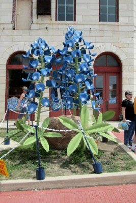 VIDA Tote Bag - Texas, Bluebonnets by VIDA
