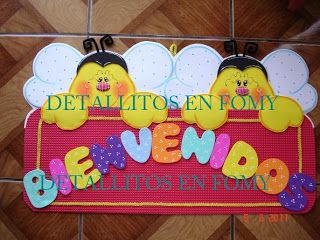 *DETALLITOS EN FOMY*: marzo 2011