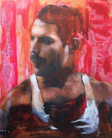 Online veilinghuis Catawiki: Peter Donkersloot - Freddie Mercury - Queen