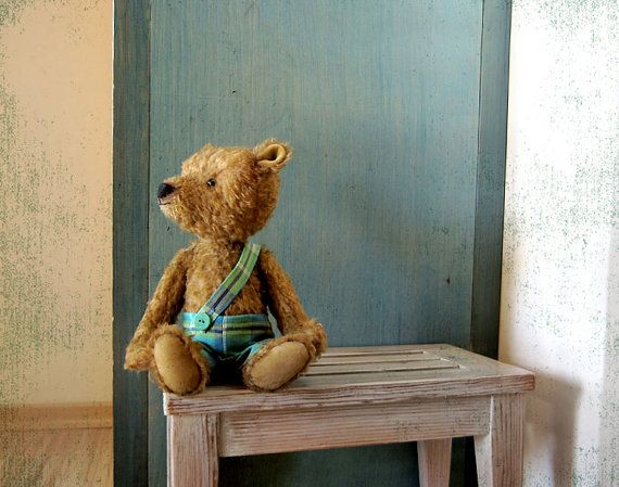 Pattern to create Teddy like Bear Mitya Green by zverrriki on Etsy