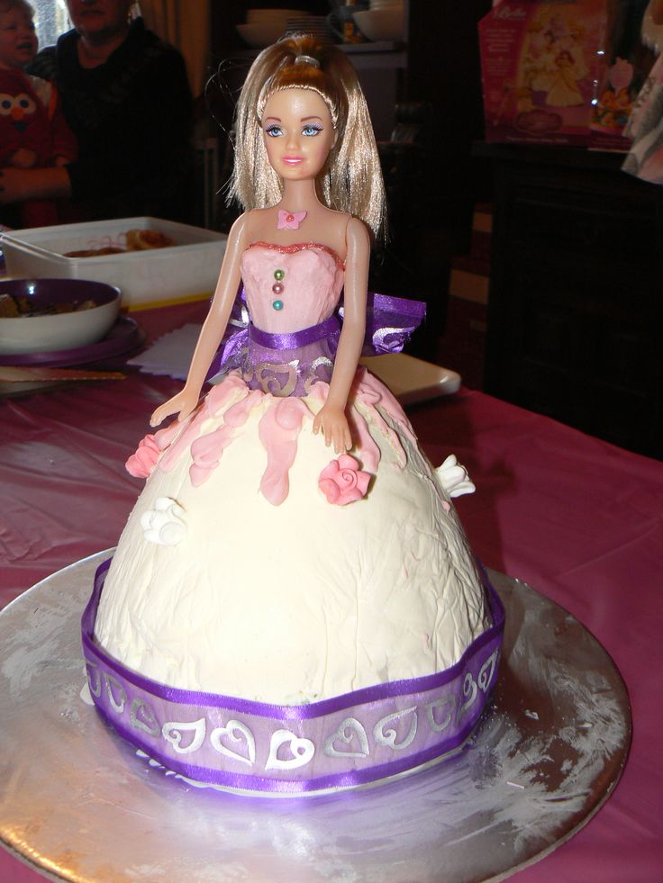 Barbie Ice-cream cake