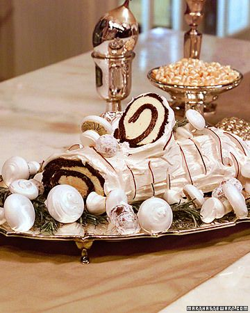 Birch de Noel - Martha Stewart Recipes  This is amazing...I make it every year for Christmas!