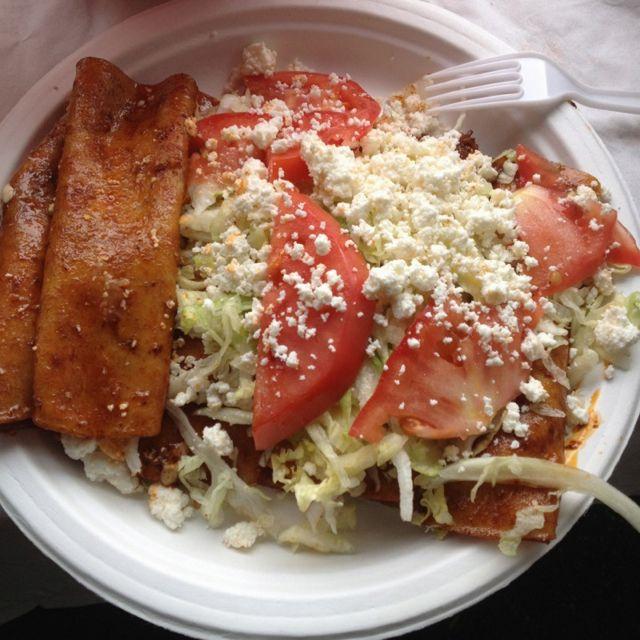 Enchiladas estilo Michoacan!
