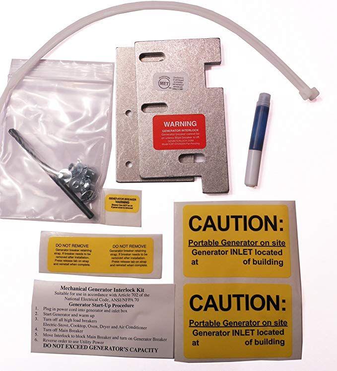 Eat Ch200xa Eaton Or Cutler Hammer Generator Interlock Kit Vertical Throw Main 150 Or 200 Amp Panel Generator Interlock Kit Review Interlock Generation Eaton