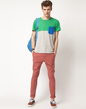 Colour block for men!Colours Block, Revolutions Block, Men Fashion, Colours T Shirts, Swag Fashion, Fashion Styl, Block Colours, Funky Boys, Box Pies
