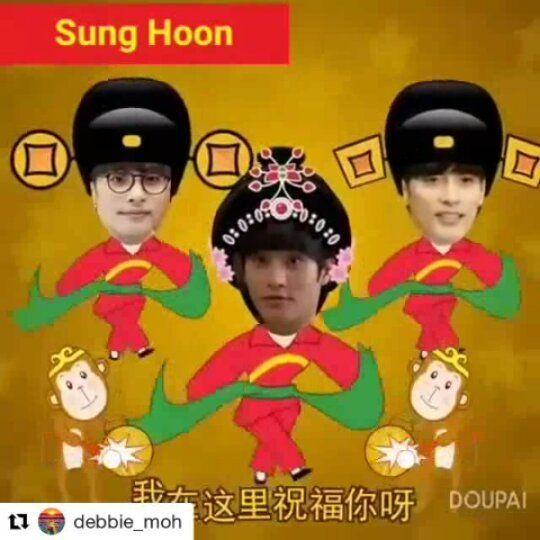 153 個讚,2 則留言 - Instagram 上的 sunghoon1983 EXCLUSIVE(@sunghoon1983_exclusive):「 #Repost @debbie_moh (@get_repost) ・・・ My post made for #SungHoon Sung Hoon Happy Birthday 14/2 All… 」