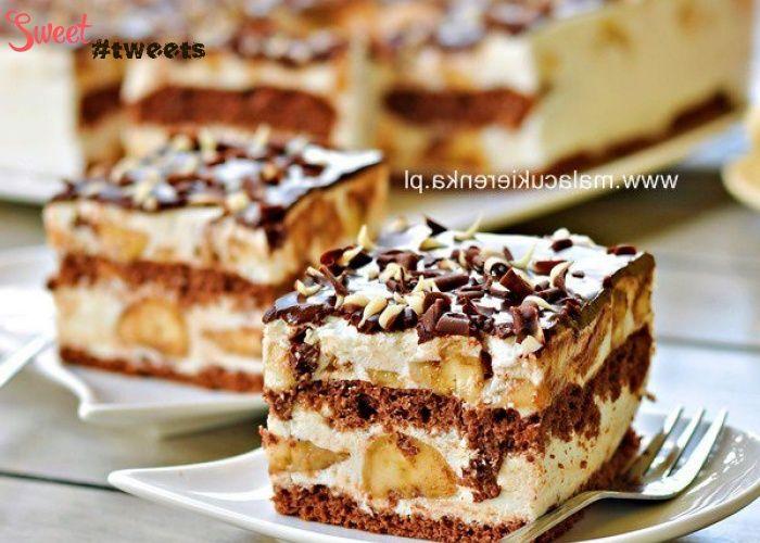 Бананово-йогуртовый торт image 1