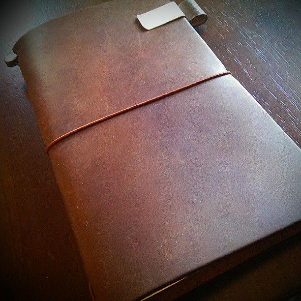My Midori Traveler's Notebook