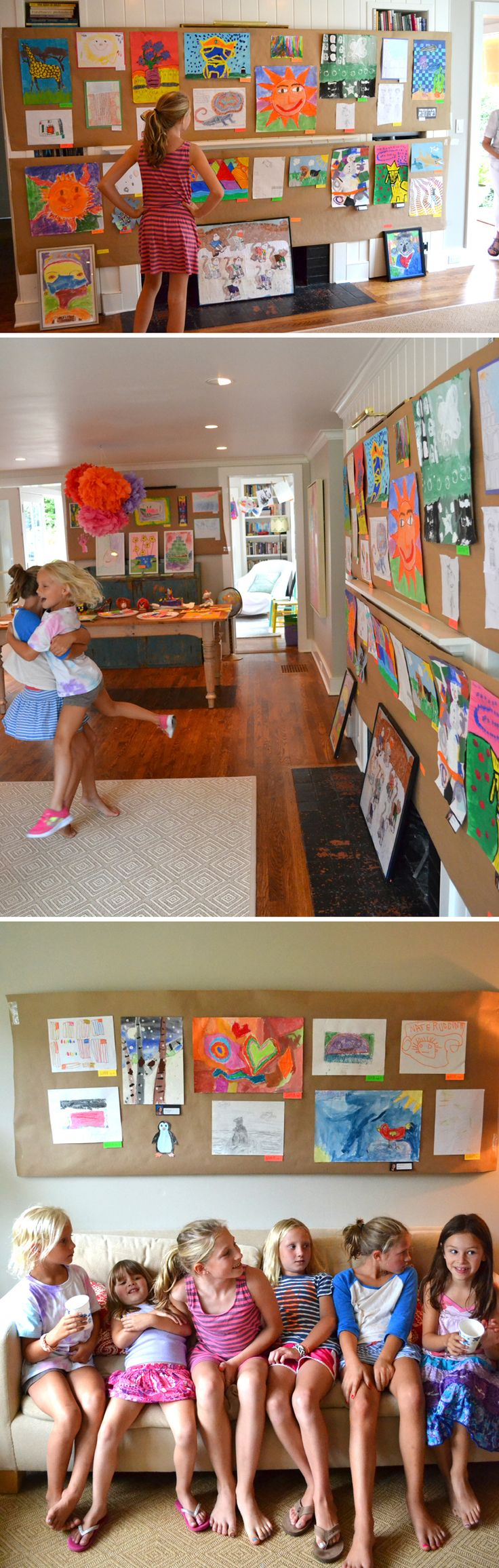 403 best displaying kids art images on pinterest kids crafts
