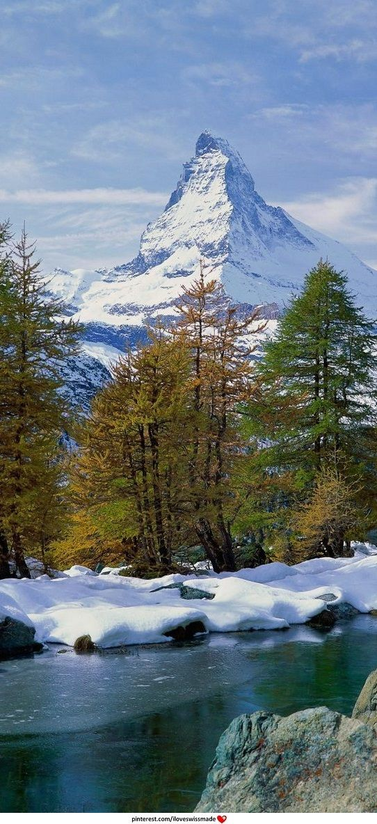 Matterhorn, Canton of Valais, Switzerland. Photo: we-traveler.com. Cropped by iLoveswissmade