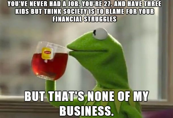 But That's None Of My Business – Meme