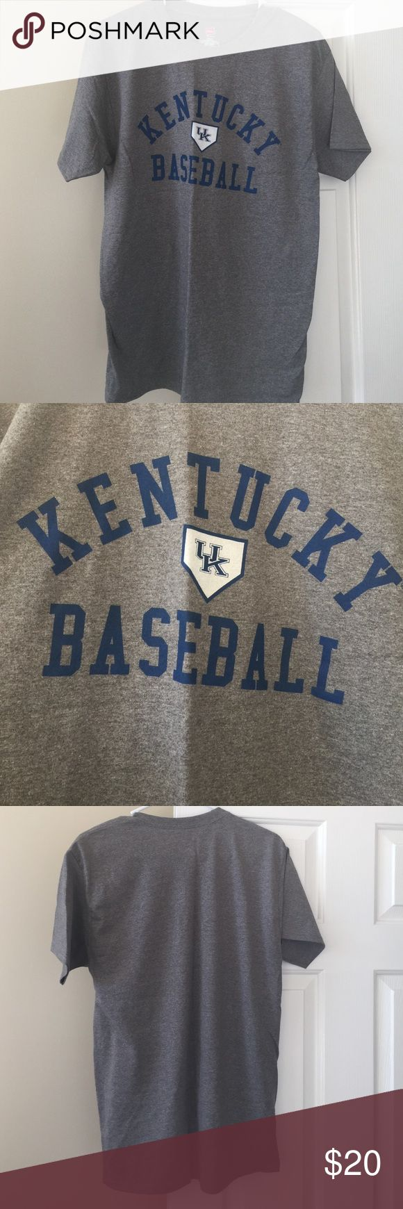 Kentucky Baseball Tee Brand new without tags never worn, UK baseball tee. In excellent condition, men's size M. Shirts Tees - Short Sleeve