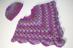 Free+Easy+Crochet+Patterns | It goes really well with the poncho as it is the same type of stitch.